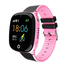 Load image into Gallery viewer, 2019 Children Smart Watch Waterproof Long Standby GPS+LBS Dual Positioning Phone Watch Health Sports Safety Monitor Tracker