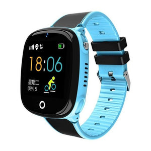 2019 Children Smart Watch Waterproof Long Standby GPS+LBS Dual Positioning Phone Watch Health Sports Safety Monitor Tracker