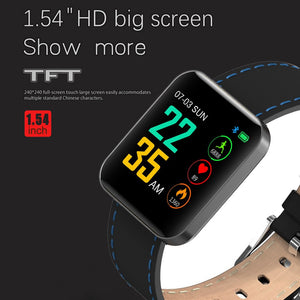 1.54'' Heart Rate Activity Step Music Control Smart Watch Bracet For Kids Men Women Smartwatch Watches Fitness Bracelet watch