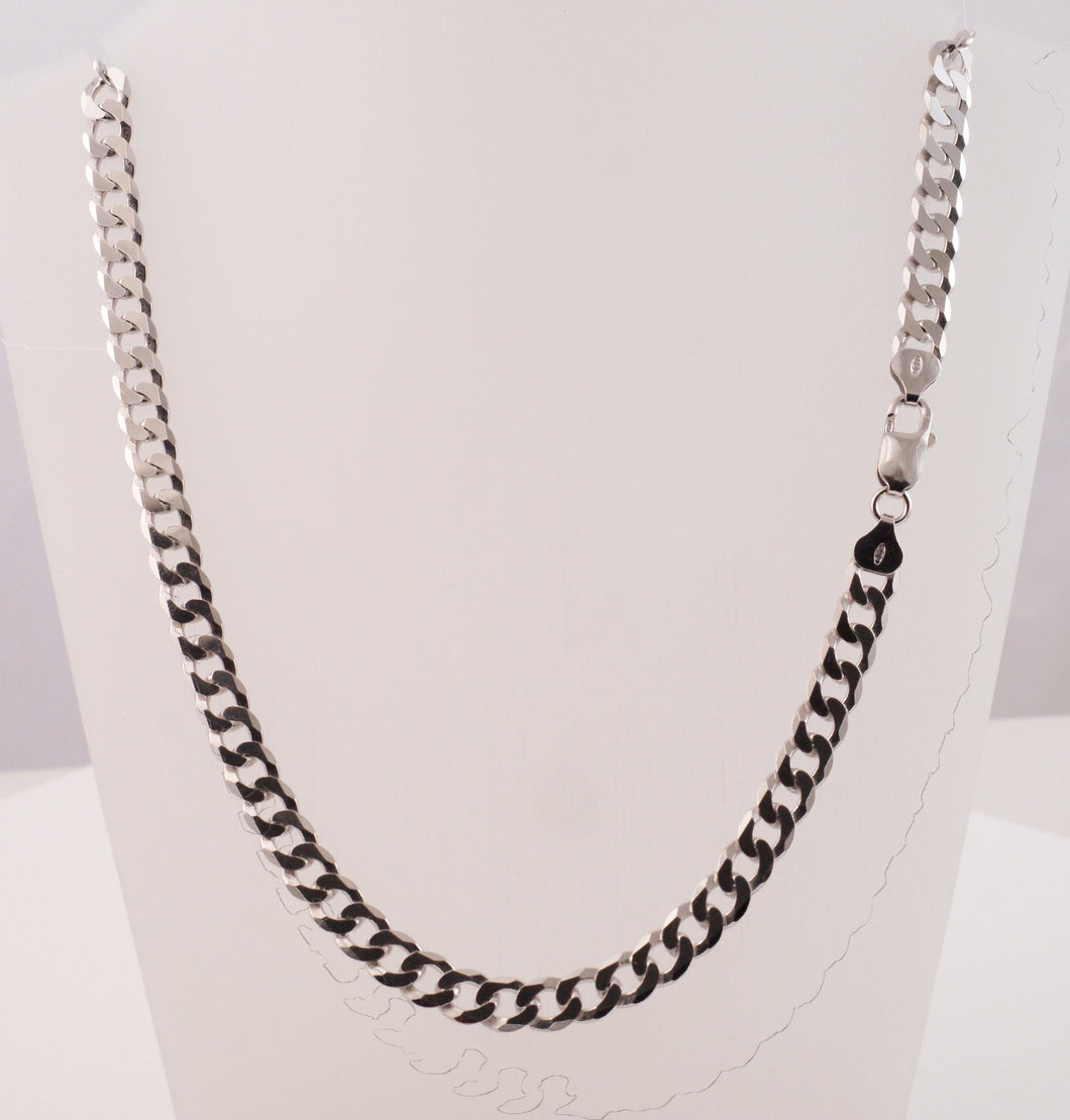 Sterling Silver Chain Curb