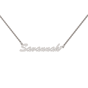 Name Chains in 9ct and Silver
