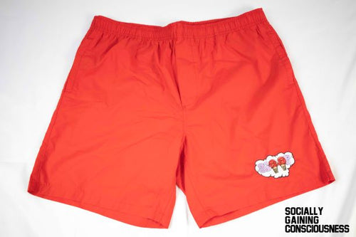 Socially Gaining Consciousness Beach Shorts