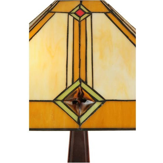 62H Diamond Mission Floor Lamp - Floor Lamps