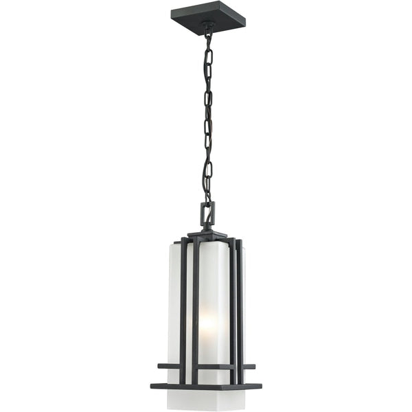 Abbey Black Outdoor Chain Mount Ceiling Fixture - Outdoor Chain Mount Ceiling Fixture