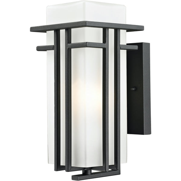 Abbey Black Outdoor Wall Sconce - Outdoor Wall Sconce
