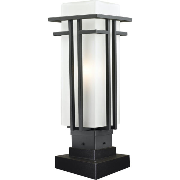 Abbey Rubbed Bronze Outdoor Pier Mounted Fixture - Outdoor Pier Mounted Fixture