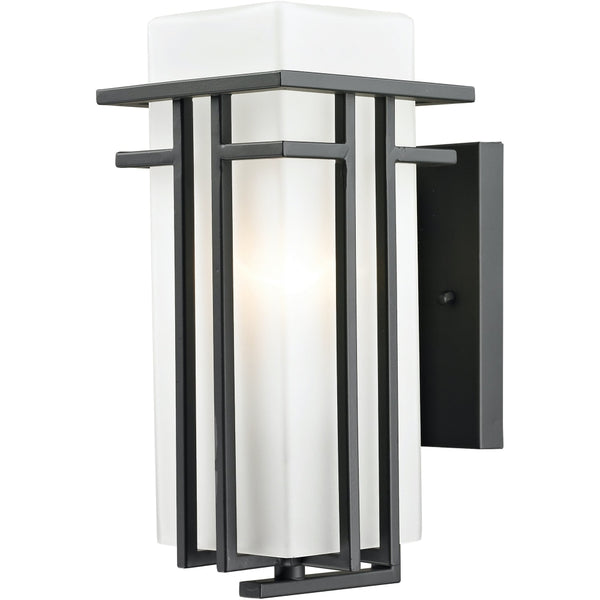 Abbey Rubbed Bronze Outdoor Wall Sconce - Outdoor Wall Sconce
