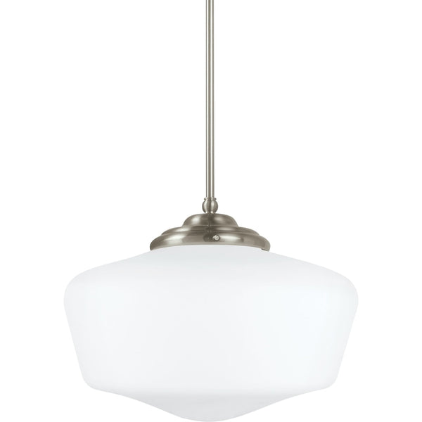 Academy Brushed Nickel LED Pendant - Pendants