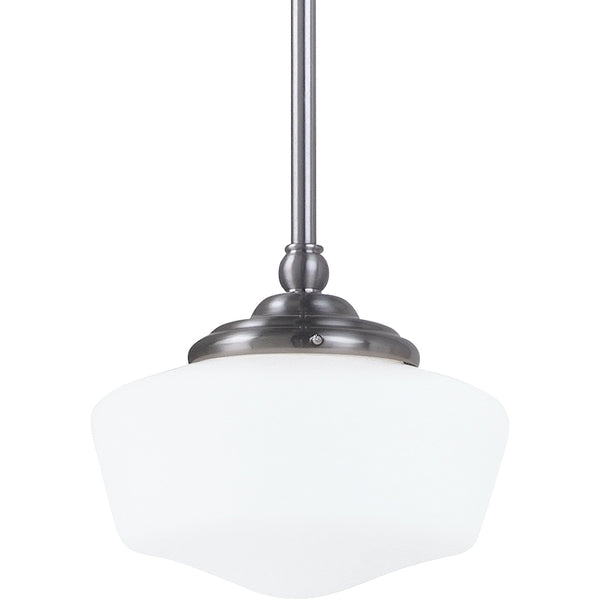 Academy Brushed Nickel Pendant - Pendants