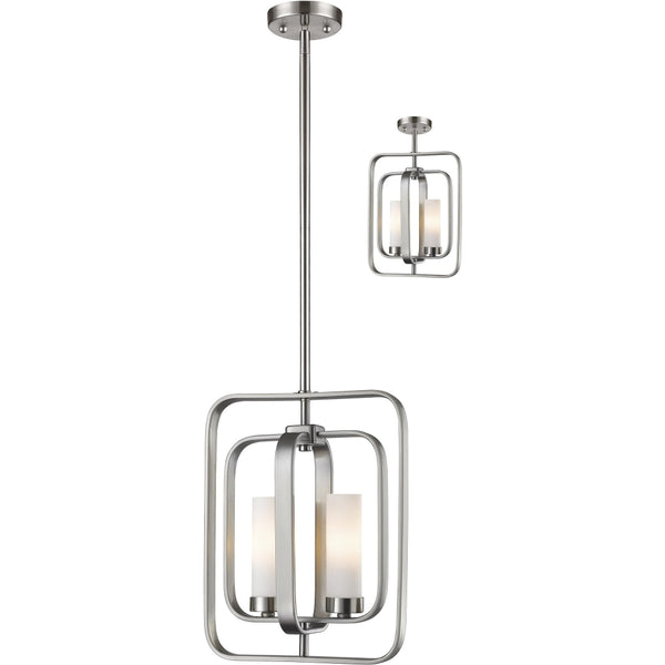 Aideen Brushed Nickel Mini-Pendant - Mini-Pendants