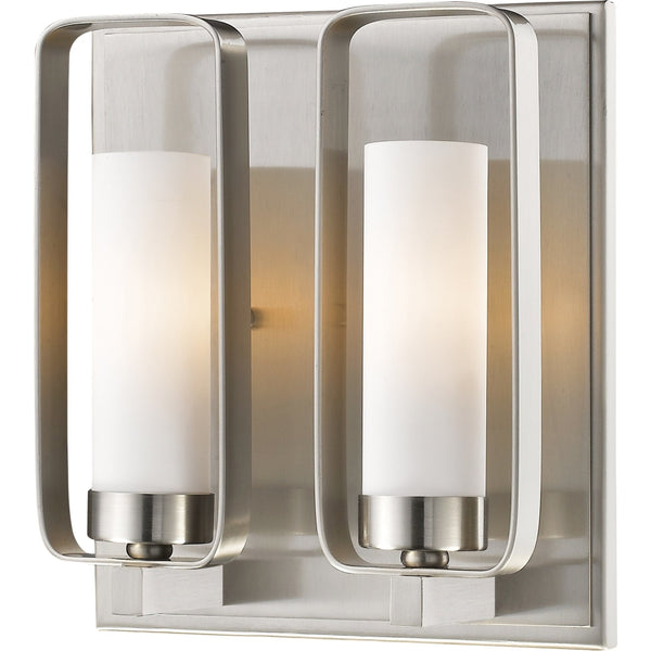 Aideen Brushed Nickel Wall Sconce - Wall Sconces