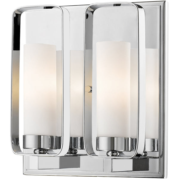 Aideen Chrome Wall Sconce - Wall Sconces