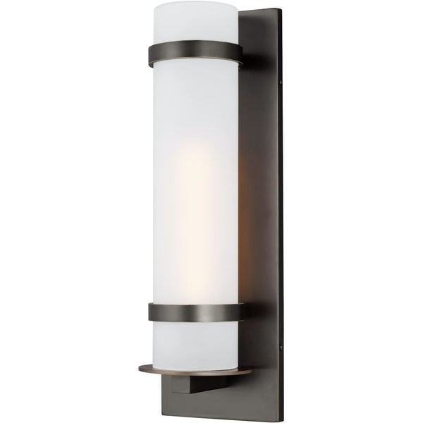 Alban Antique Bronze LED Outdoor Wall Lantern - Outdoor Wall Sconce
