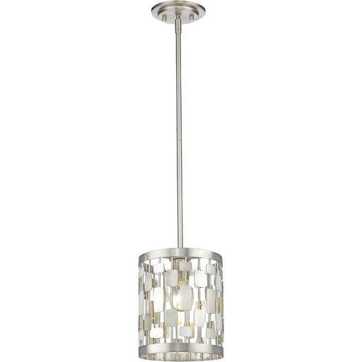 Almet Brushed Nickel Mini-Pendant - Mini-Pendants