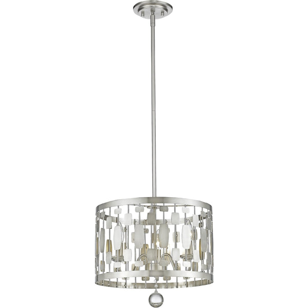 Almet Brushed Nickel Pendant - Pendants