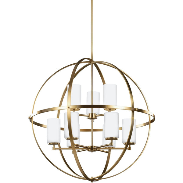 Alturas Satin Bronze LED Chandelier - Chandeliers