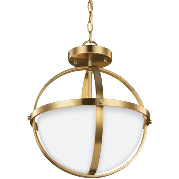 Alturas Satin Bronze Semi-Flush Mount Convertible Pendant - Pendants