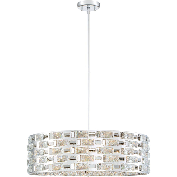Aludra Chrome Pendant - Pendants