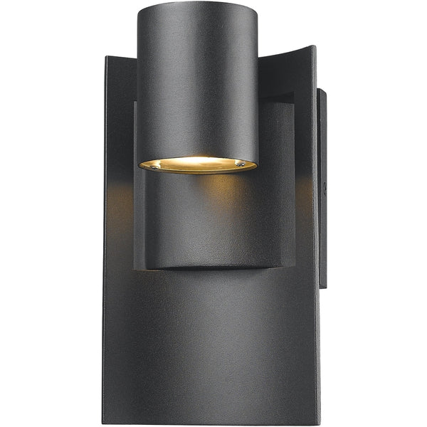 Amador Black LED Outdoor Wall Sconce - Outdoor Wall Sconce