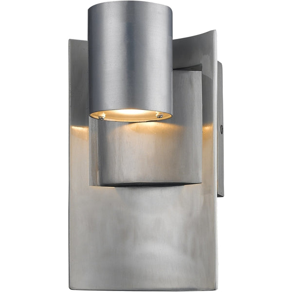 Amador Silver LED Outdoor Wall Sconce - Outdoor Wall Sconce