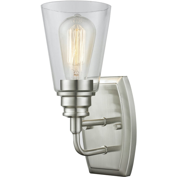 Annora Brushed Nickel Wall Sconce - Wall Sconces