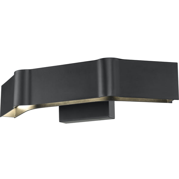 Arcano Matte Black LED Wall Sconce - Wall Sconces
