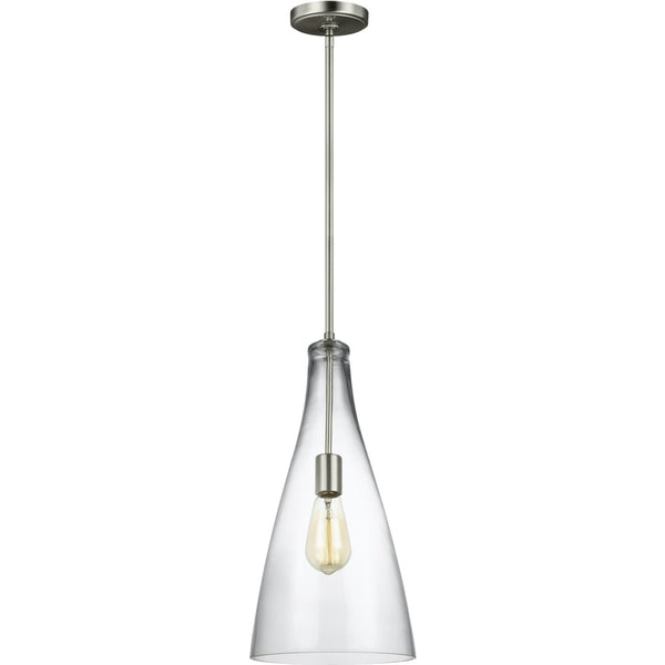 Arilda Brushed Nickel LED Pendant - Pendants