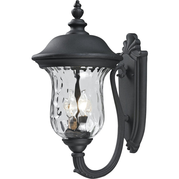 Armstrong Black Outdoor Wall Sconce - Outdoor Wall Sconce