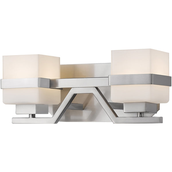 Ascend Brushed Nickel LED Vanity - Bath & Vanity