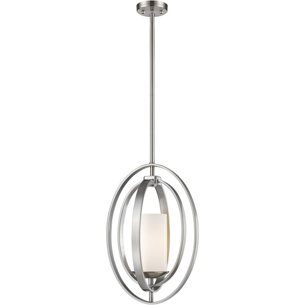 Ashling Brushed Nickel Mini-Pendant - Mini-Pendants