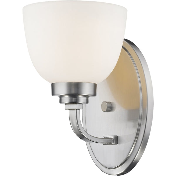 Ashton Brushed Nickel Wall Sconce - Wall Sconces