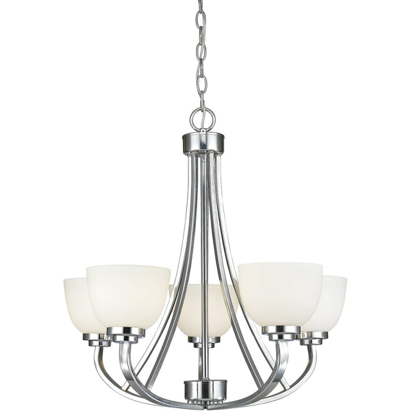 Ashton Chrome Chandelier - Chandeliers