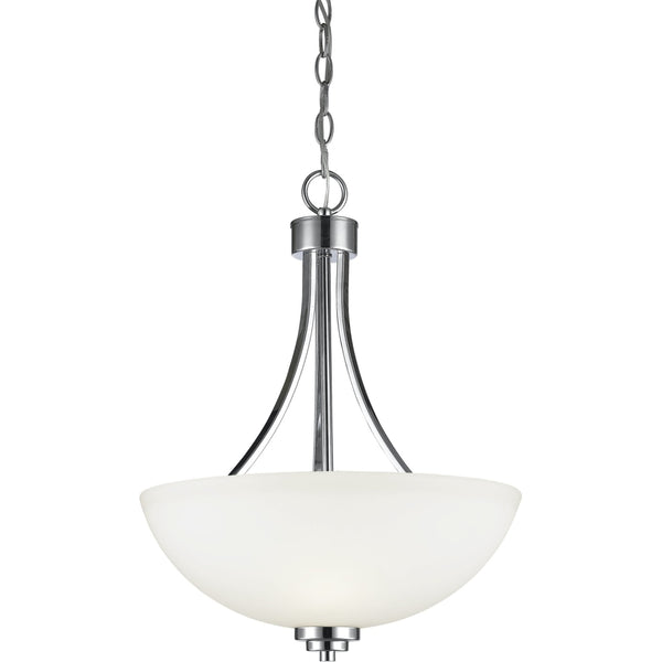 Ashton Chrome Pendant - Pendants