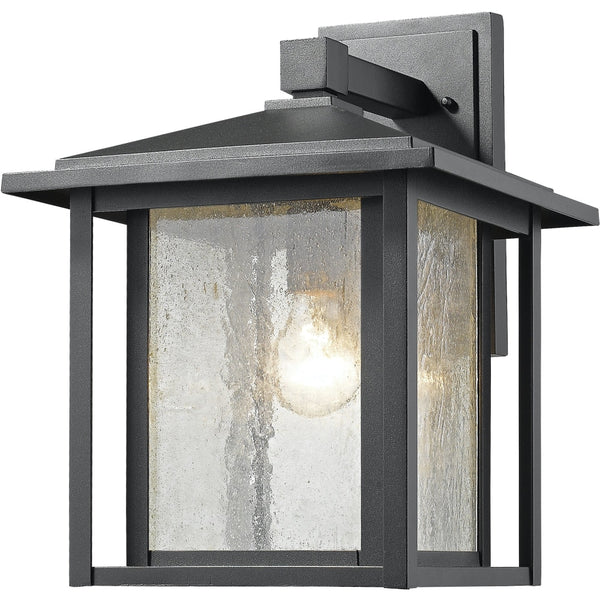 Aspen Black Outdoor Wall Sconce - Outdoor Wall Sconce
