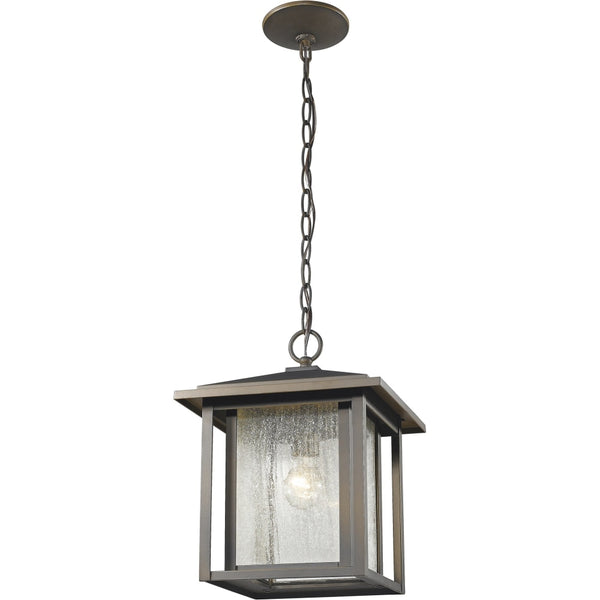 Aspen Oil Rubbed Bronze Outdoor Chain Mount Ceiling Fixture - Outdoor Chain Mount Ceiling Fixture