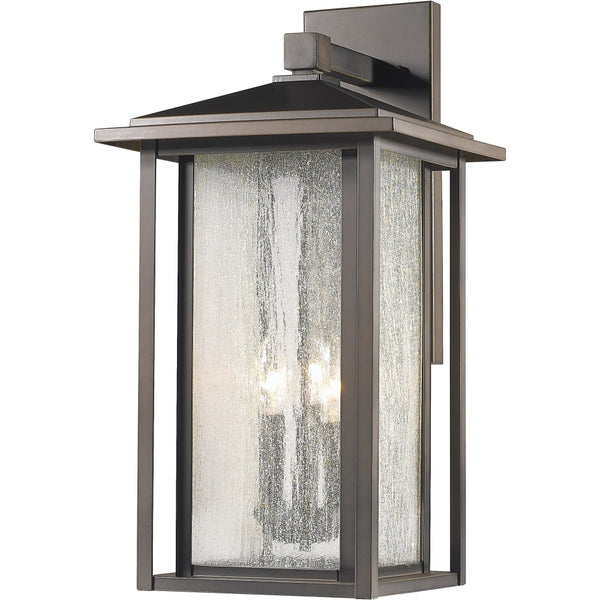 Aspen Oil Rubbed Bronze Outdoor Wall Sconce - Outdoor Wall Sconce