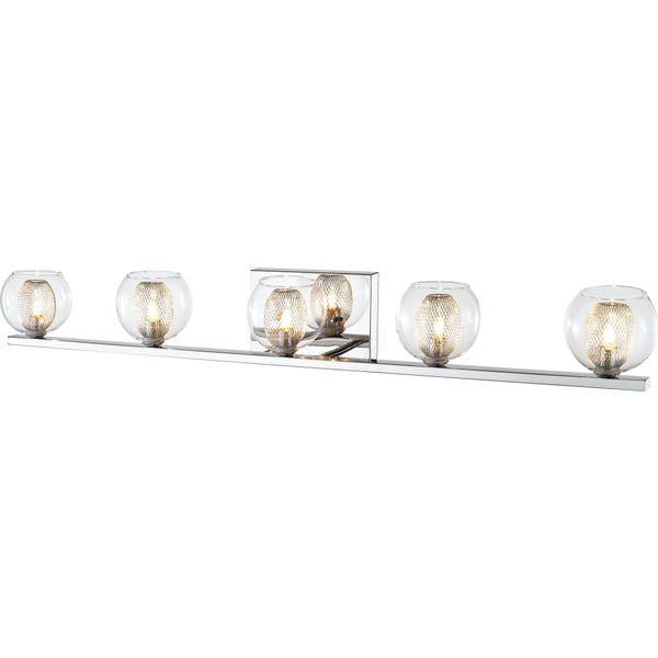 Auge Chrome LED Vanity - Bath & Vanity