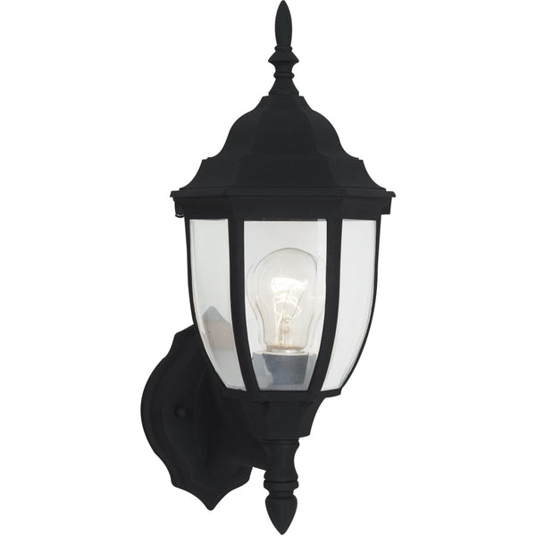 Bakersville Black Outdoor Wall Lantern - Outdoor Wall Sconce