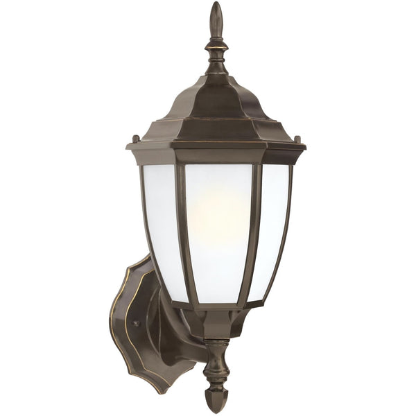 Bakersville Heirloom Bronze LED Outdoor Wall Lantern - Outdoor Wall Sconce