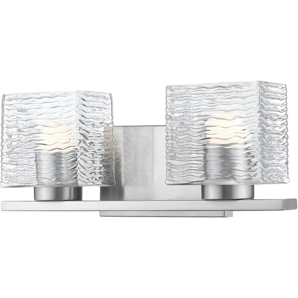 Barrett Brushed Nickel LED Vanity - Bath & Vanity