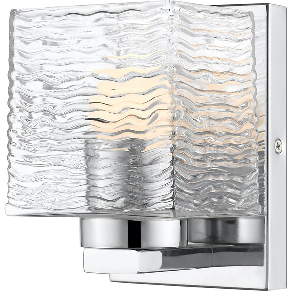 Barrett Chrome LED Wall Sconce - Wall Sconces