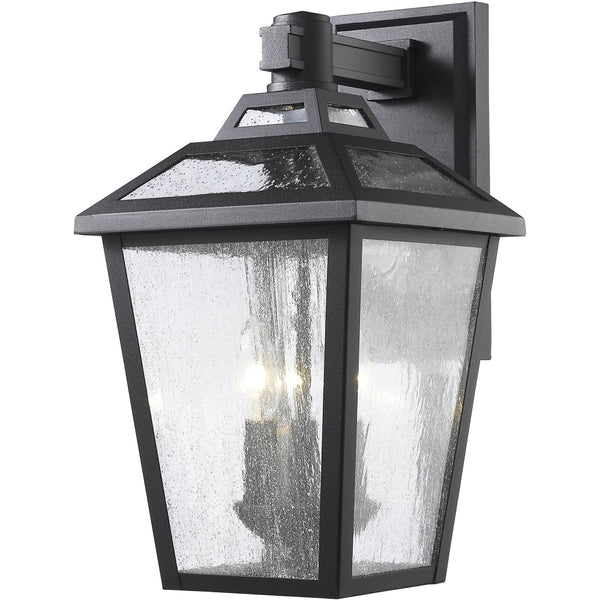 Bayland Black Outdoor Wall Sconce - Outdoor Wall Sconce
