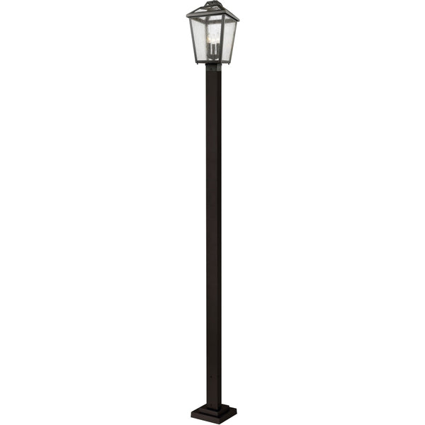 Bayland Oil Rubbed Bronze Outdoor Post Mounted Fixture - Outdoor Post Mounted Fixture