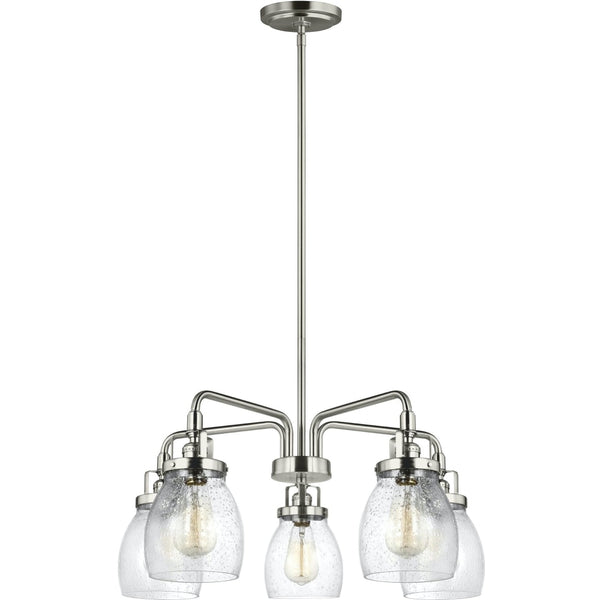 Belton Brushed Nickel LED Chandelier - Chandeliers