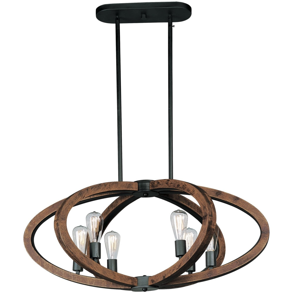 Bodega Bay Anthracite Multi-Light Pendant - Pendants