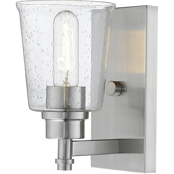 Bohin Brushed Nickel Wall Sconce - Wall Sconces