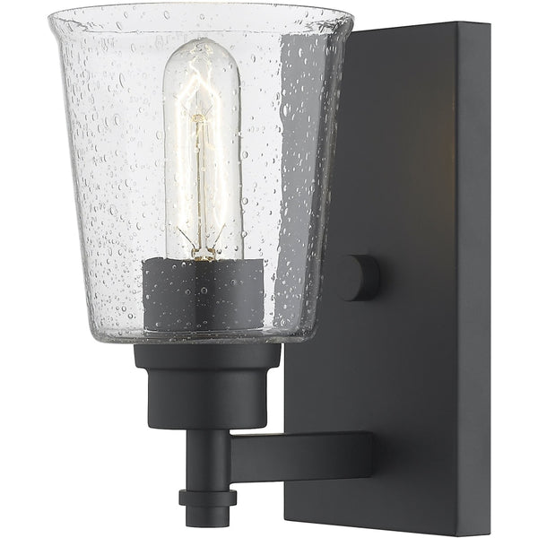 Bohin Matte Black Wall Sconce - Wall Sconces