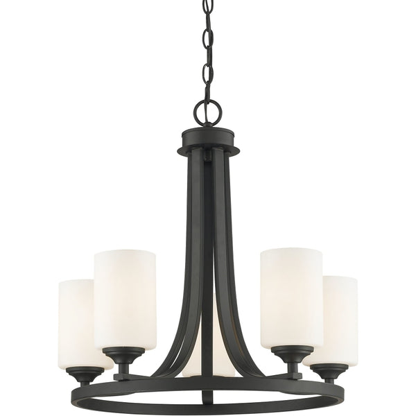 Bordeaux Bronze Chandelier - Chandeliers
