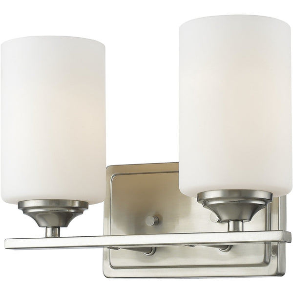 Bordeaux Brushed Nickel Vanity - Bath & Vanity