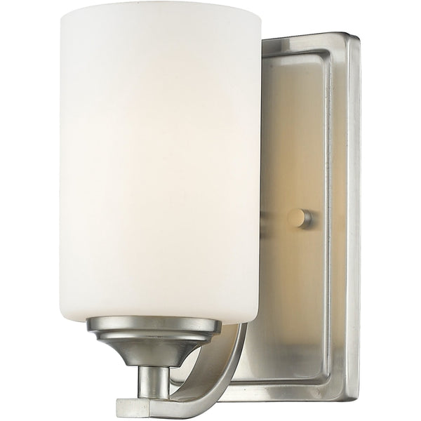 Bordeaux Brushed Nickel Wall Sconce - Wall Sconces